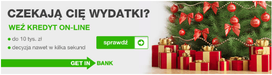 GetinBank kredyt online