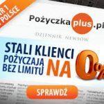 Pożyczka Plus chwilówka 2000 na 30 dni za 0 zł