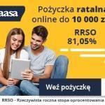 AasaKredyt pożyczka ratalna 10000 zł na 2 lata