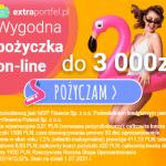Extra Portfel chwilówka 3000 zł na 30 dni