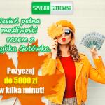 Szybka Gotówka pożyczka 3 000 zł na 65 dni