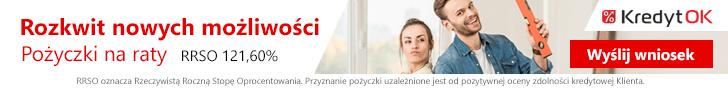 KredytOK pożyczka na 4 raty do 7000 zł 1