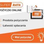 SuperRata pożyczka do 3000 zł na 12 m-cy