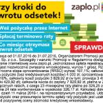 Pożyczka Zaplo promocja 20% prowizji na 3 m-ce