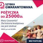 Rapidamoney pożyczki łatwe i dopasowane do potrzeb klienta do 25 000 zł