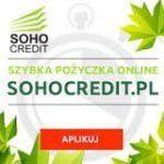 Soho Credit chwilówka 1000 zł na 30 dni