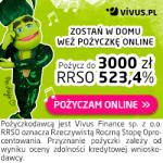 Vivus pożyczka 3000 zł na 30 dni