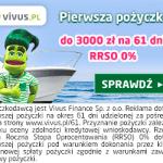 Vivus pożyczka bez opłat 3000 zł na 61 dni