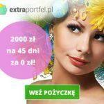 ExtraPortfel teraz do 2000 zł na 45 dni bez opłat
