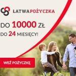 Łatwa Pożyczka do 10 000 zł na 24 m-ce