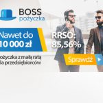 BOSS Pożyczka do 10000 zł – dla nowych firm na start i dla małych firm
