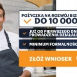 Pożyczka ratalna Aasa Biznes dla firm do 10000 zł na 24 mce