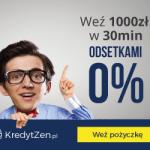 Kredyt Zen pierwsza pożyczka do 500 zł za darmo!