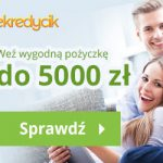 eKredycik pożyczka ratalna do 7000 zł na 30 m-cy