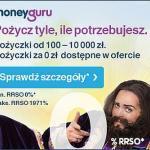 MoneyGuru pożyczka na 3-24 miesiące do 10 000 zł