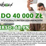 Pikassa pożyczka odnawialna do 40 000 zł na 60 m-cy