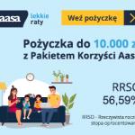 Aasa Kredyt pożyczka ratalna 15000 zł na 3 lata