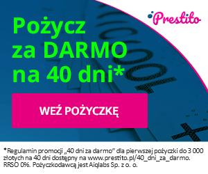 Pożyczka Prestito do 3000 zł bez opłat 1